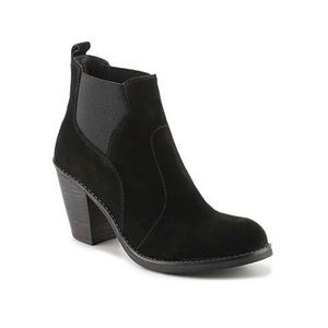 Crown Vintage Suede Chelsea Ankle Boots